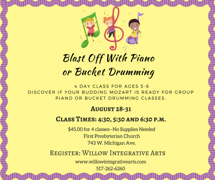 Blast Off With PIano!